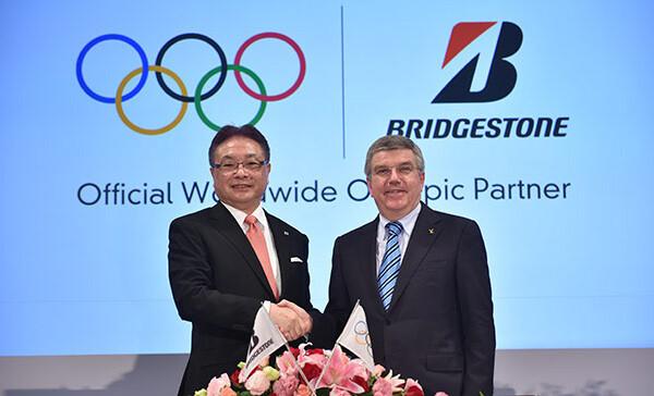 Bridgestone Olimpic partner