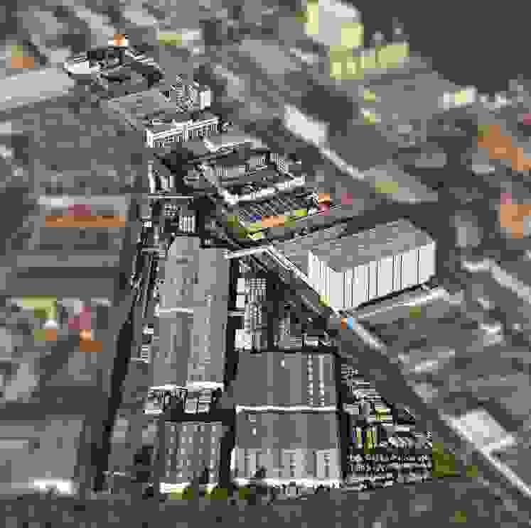 Complexo industrial da FUCHS em Mannheim