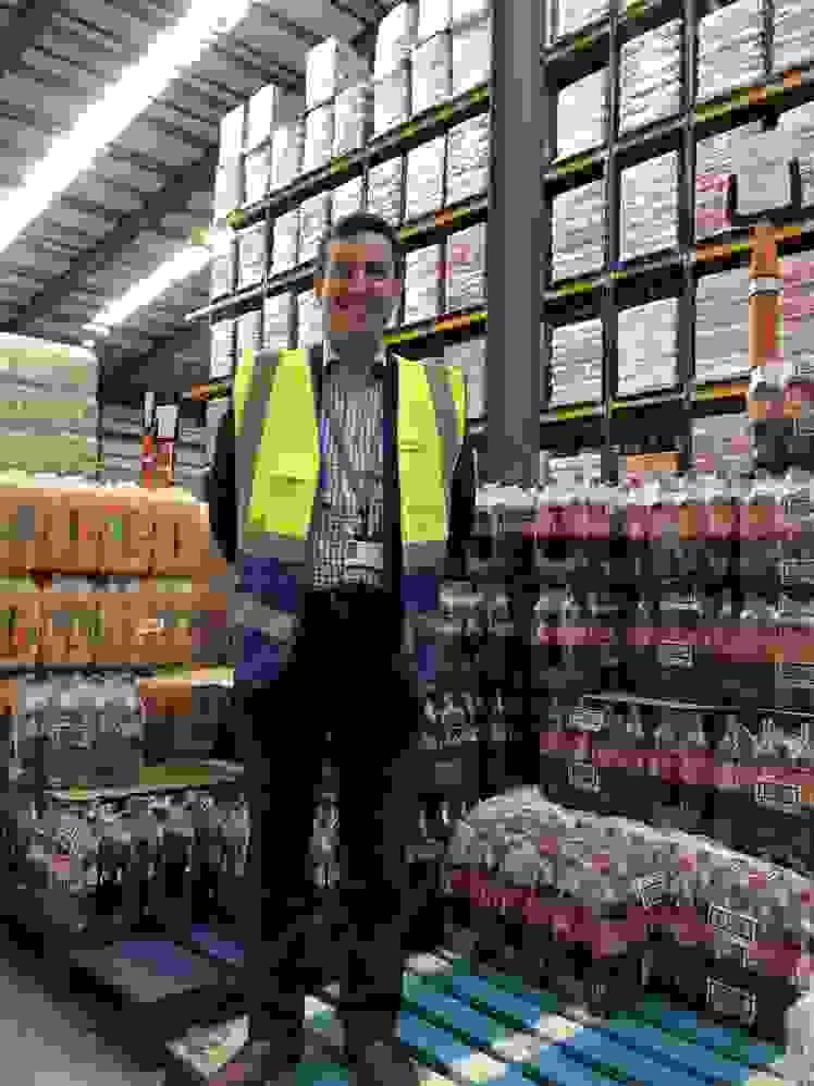 Alan Abraham, Henderson Wholesale Logistics Manager