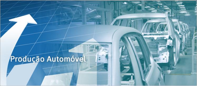 Produção de automóveis