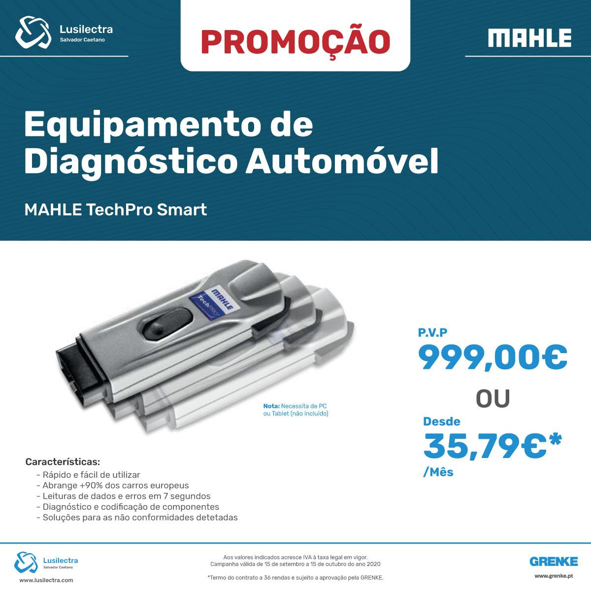 Campanha Lusilectra - MAHLE TechPRO Smart