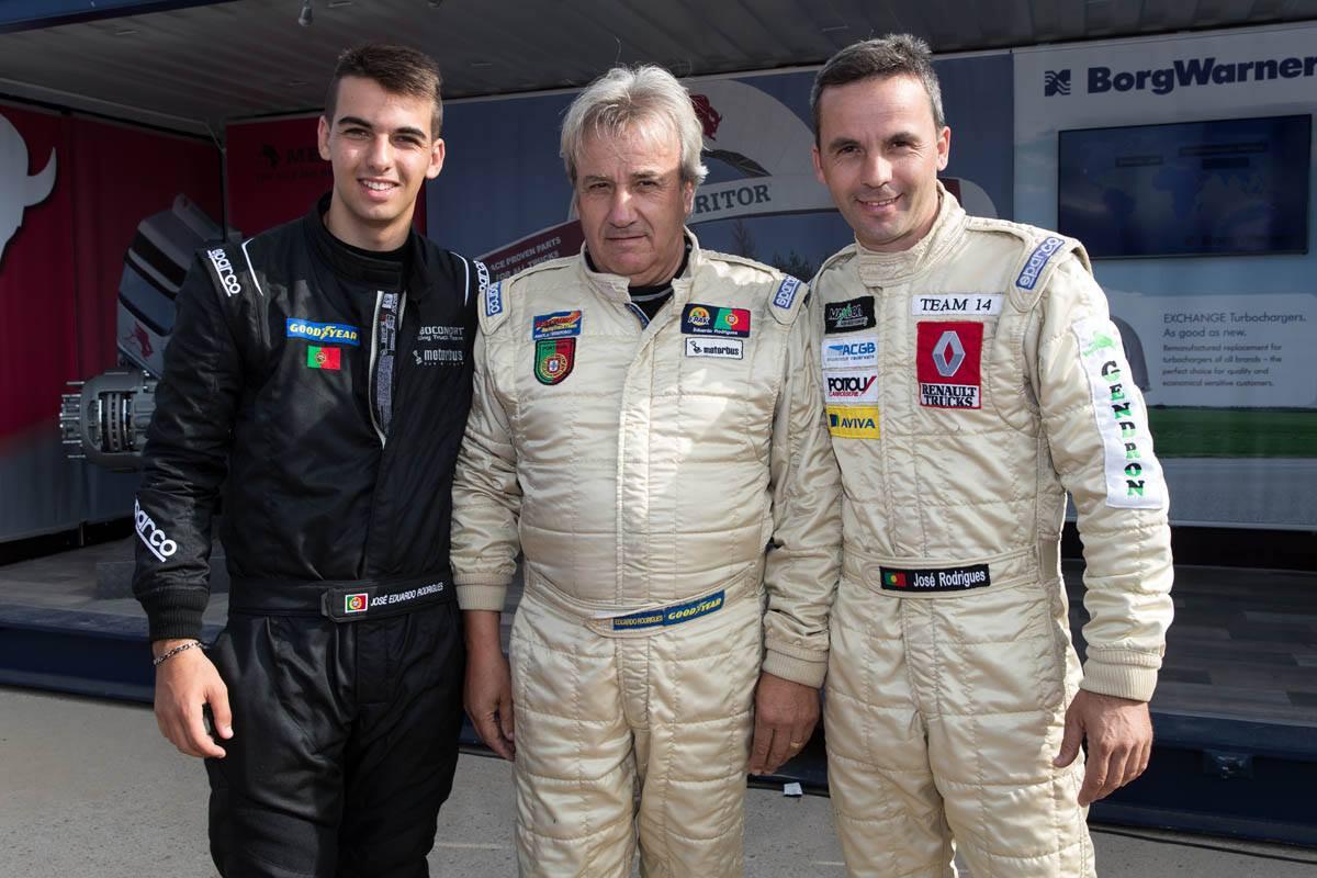 Os três pilotos integram, esta temporada, a Reboconort Racing Truck Team
