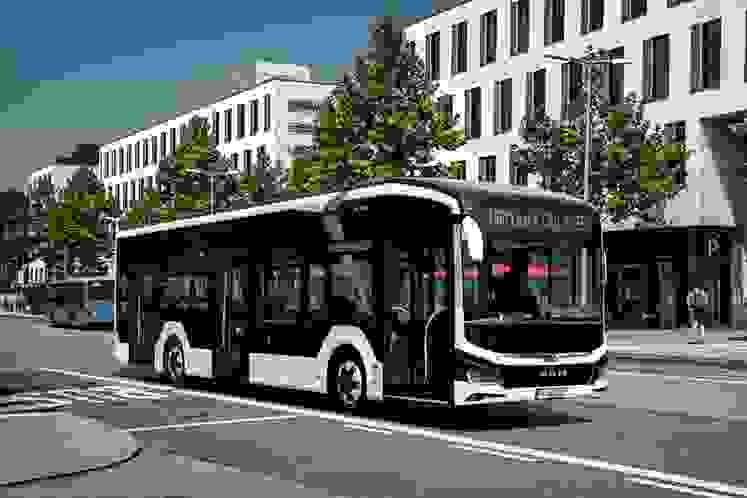 O Lion's City E, o autocarro totalmente eléctrico MAN, estreou-se na Feira de Veículos Comerciais, IAA 2018. A produção em série terá iní