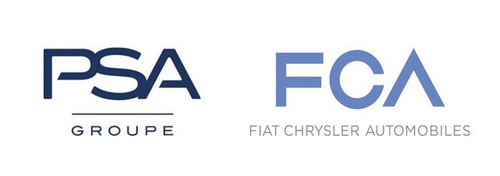 Fusão PSA FCA - Logos
