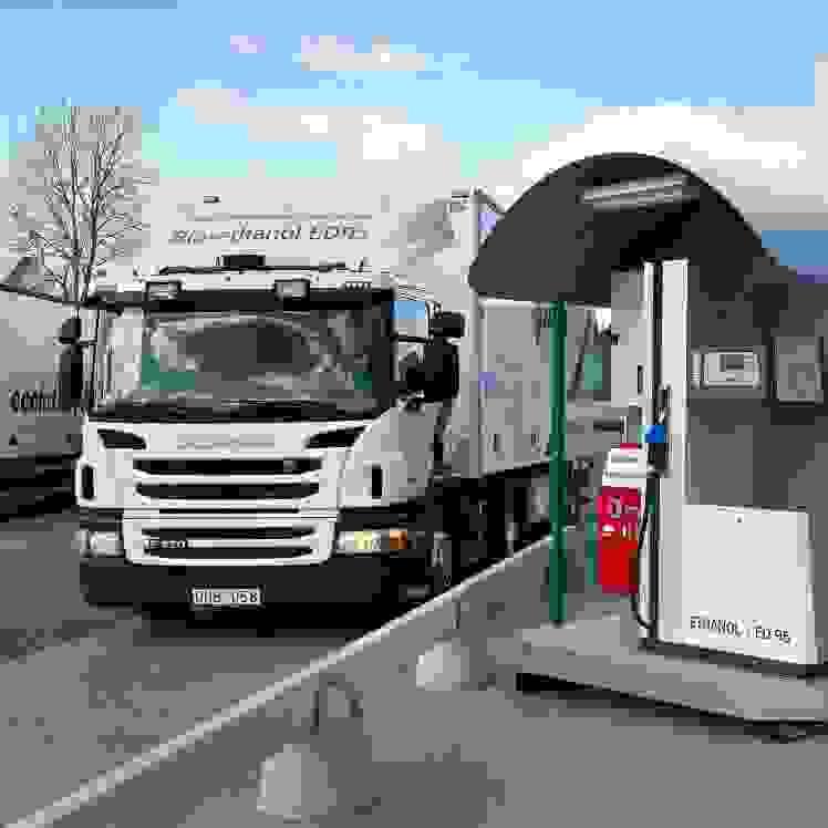 Scania lança motor de 13l a bioetanol
