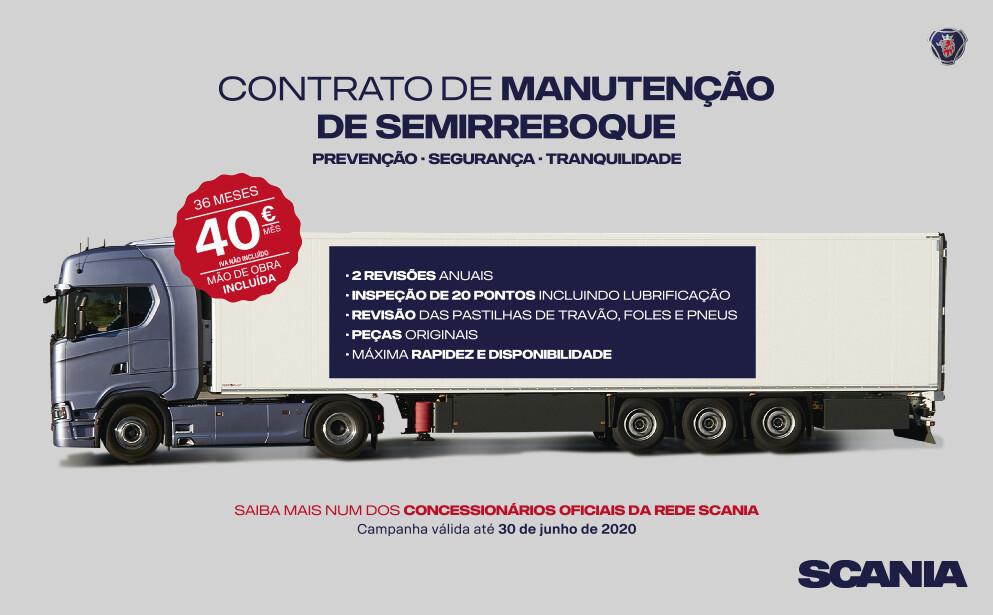 Scania também cuida do semirreboque