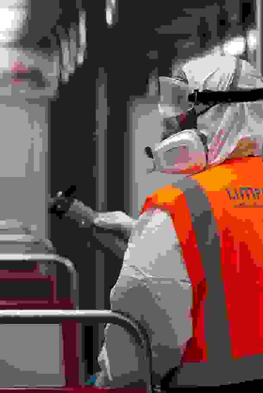 Nebulização Metro de Lisboa