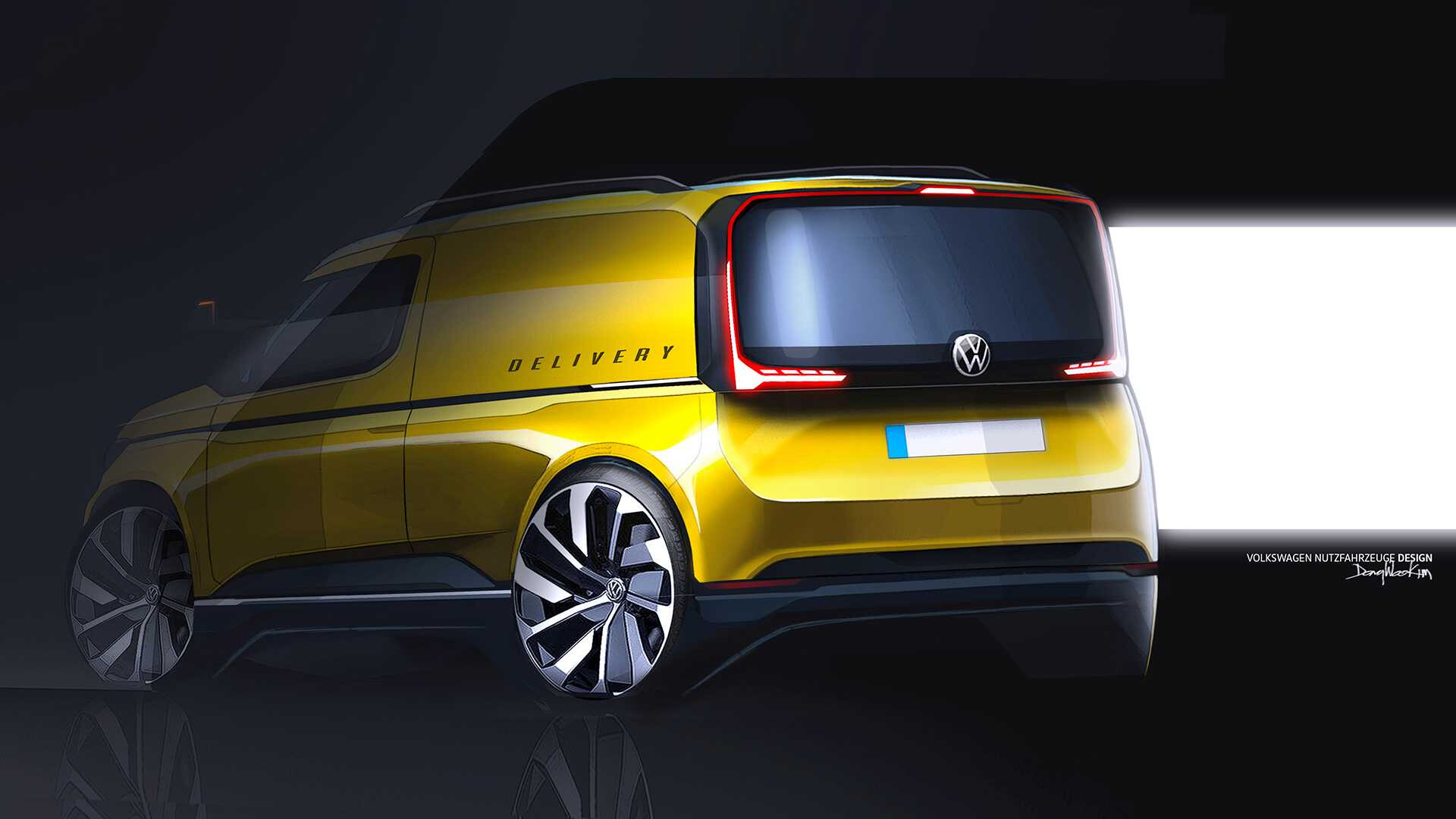 Volkswagen Caddy_2020_sketch-2