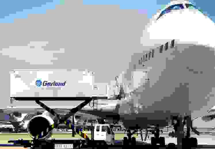 Transporte aereo Garland