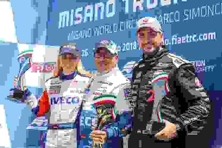 ETRC 2018 Misano Podium