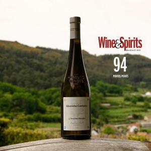 94 Points Alvarinho Contacto 2020: Wine & Spirits