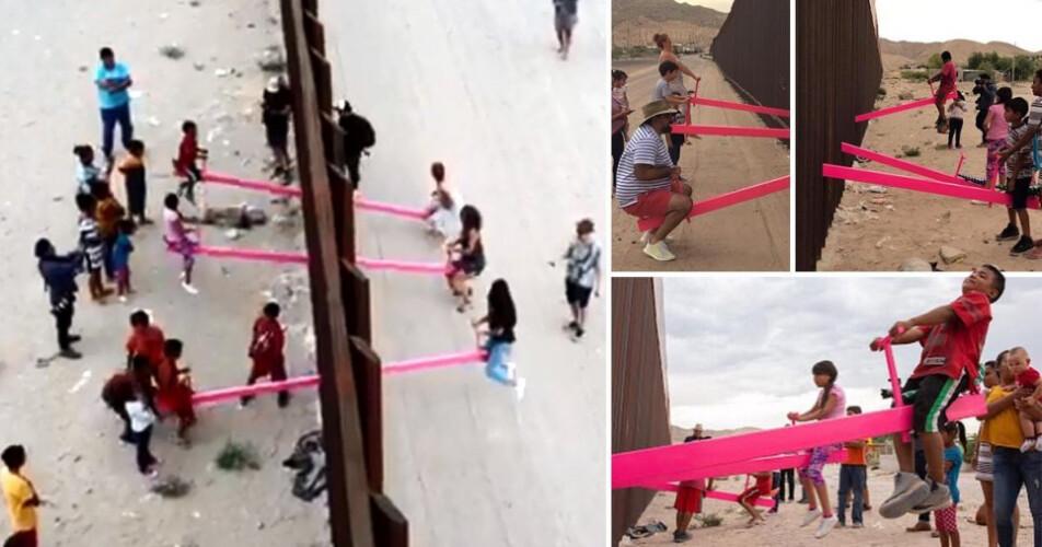 tabua-infantil-de-equilibrio-junta-criancas-americanas-e-mexicanas