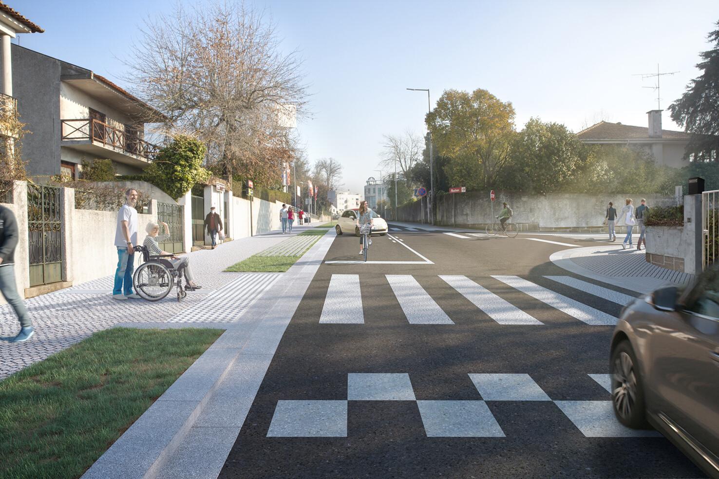 A primeira fase avança na rua Comendador António Maria Lopes