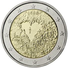 Moeda comemorativa do 60.º aniversário da declaração universal dos Direitos Humanos Emitida em 2008 na Finlândia, está à venda por 33,10 euros. Ex