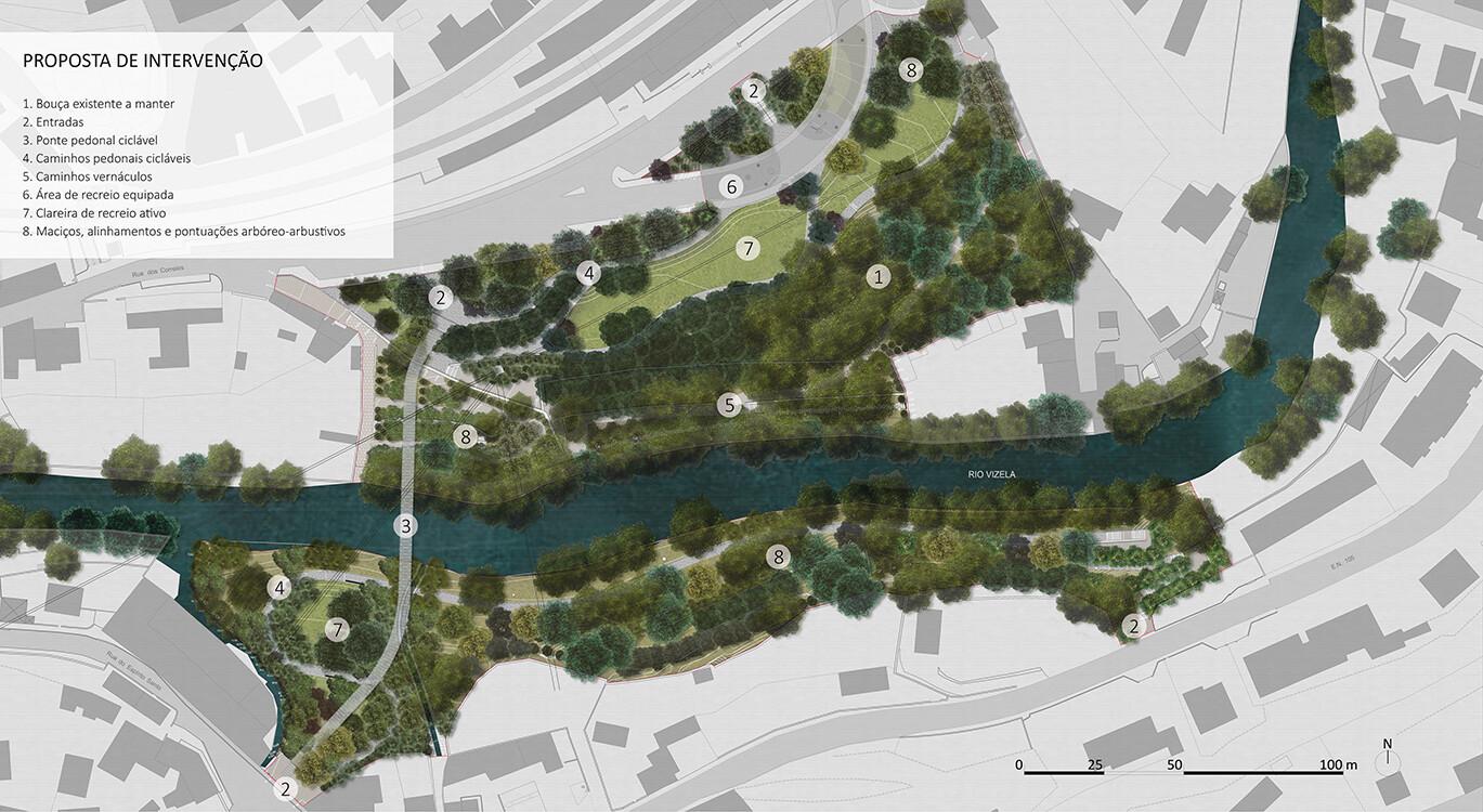 Projeto de requalificação vai transformar uma área de 43 500 metros quadrados