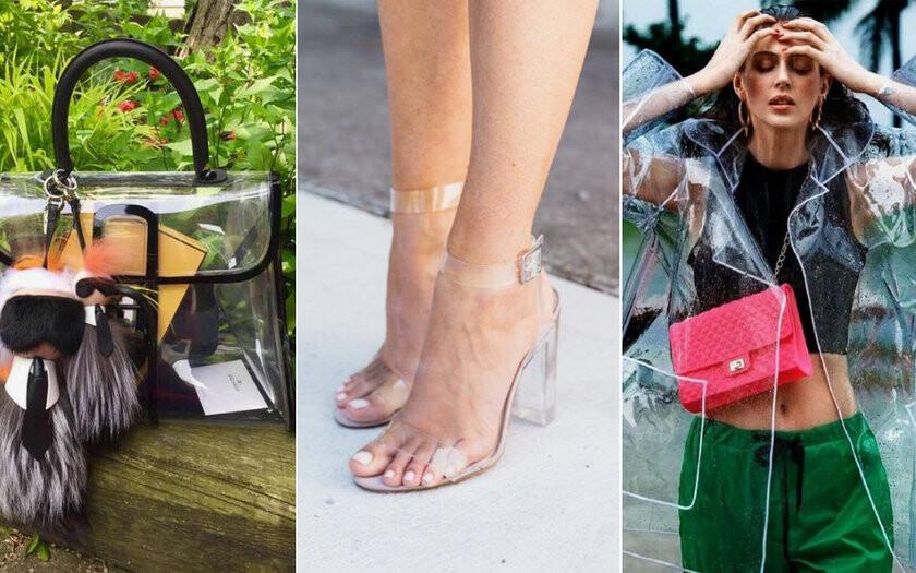 fccdb6e4b moda. O Plástico voltou a ser tendência! Ele apareceu nas passarelas na  década de 90 e voltou com tudo no desfile da Chanel.
