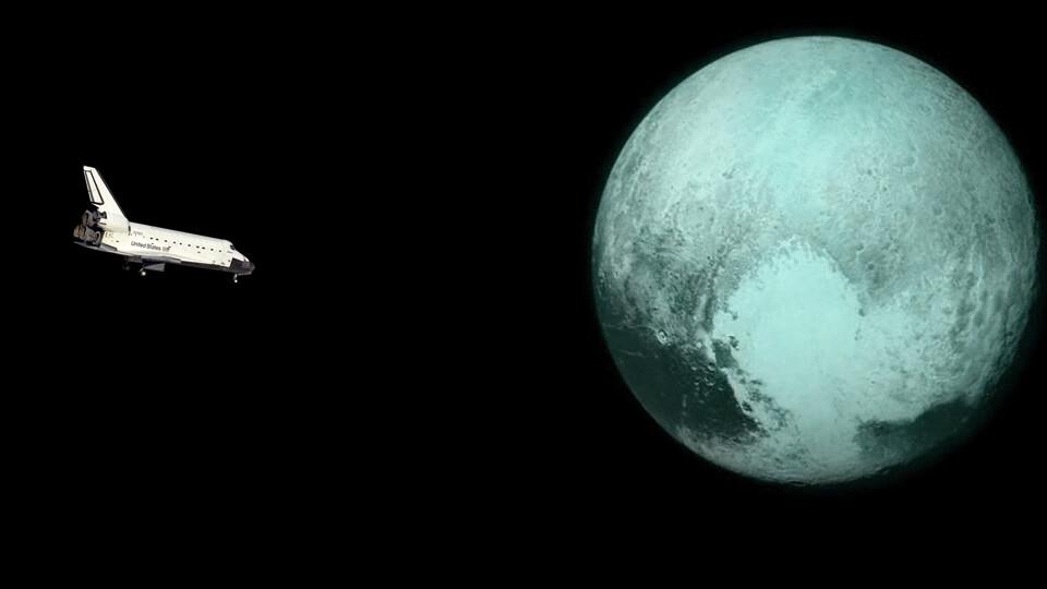 6 - Apanhar um voo direto para Plutão