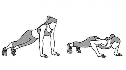 flexao de braço