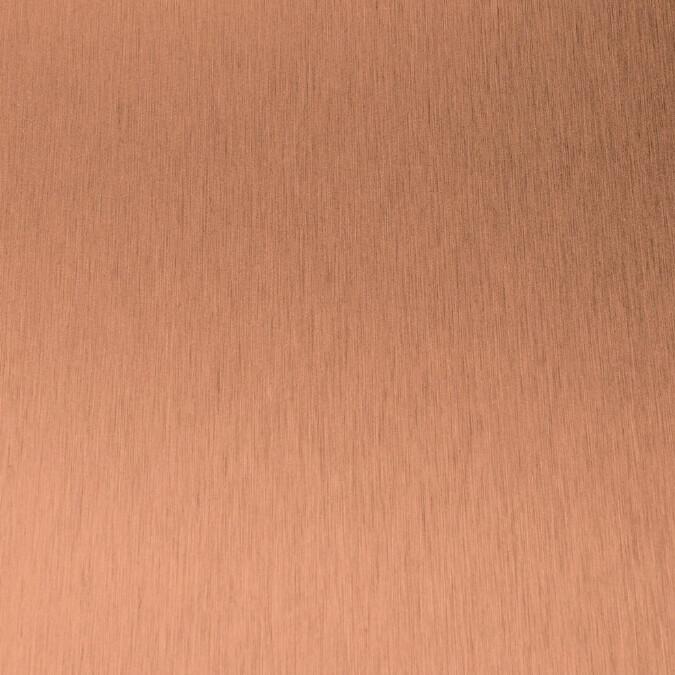 copper-brushed