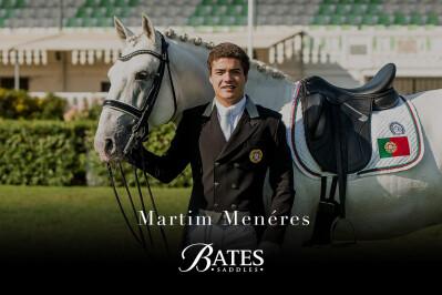 Martim Menéres patrocinado pela Bates Saddles