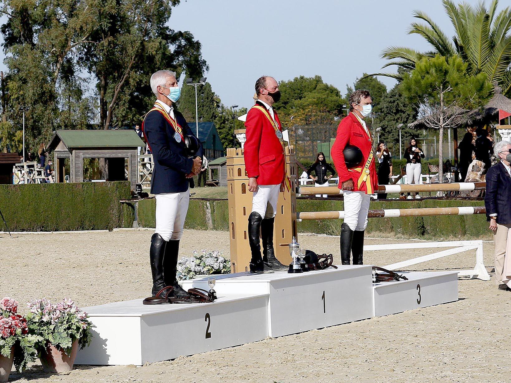 3- Los campeones de España Veteranos 1
