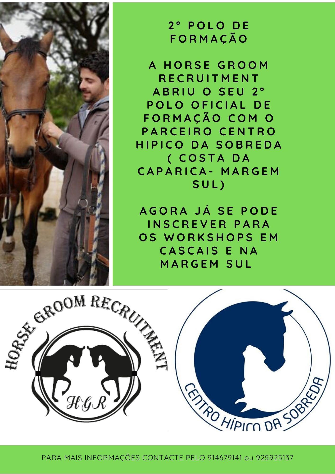 Horse Groom Recruitment
