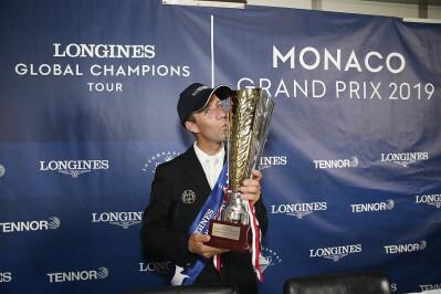 Quem ganhou a etapa do LGCT no Mónaco?