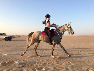 Isabel Nogueira disputou prova no Dubai