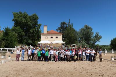 Equitação especial na Escola Superior Agrária de Santarém
