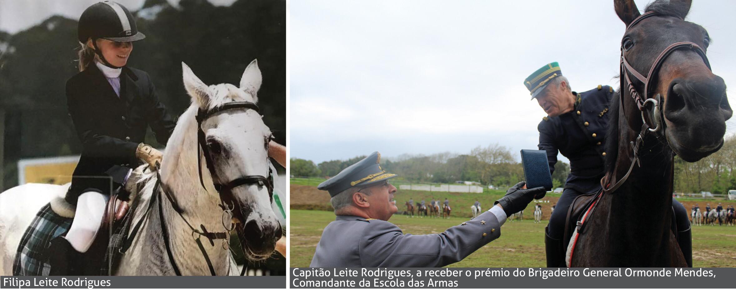 Filipa Leite Rodrigues e Capitão Leite Rodrigues