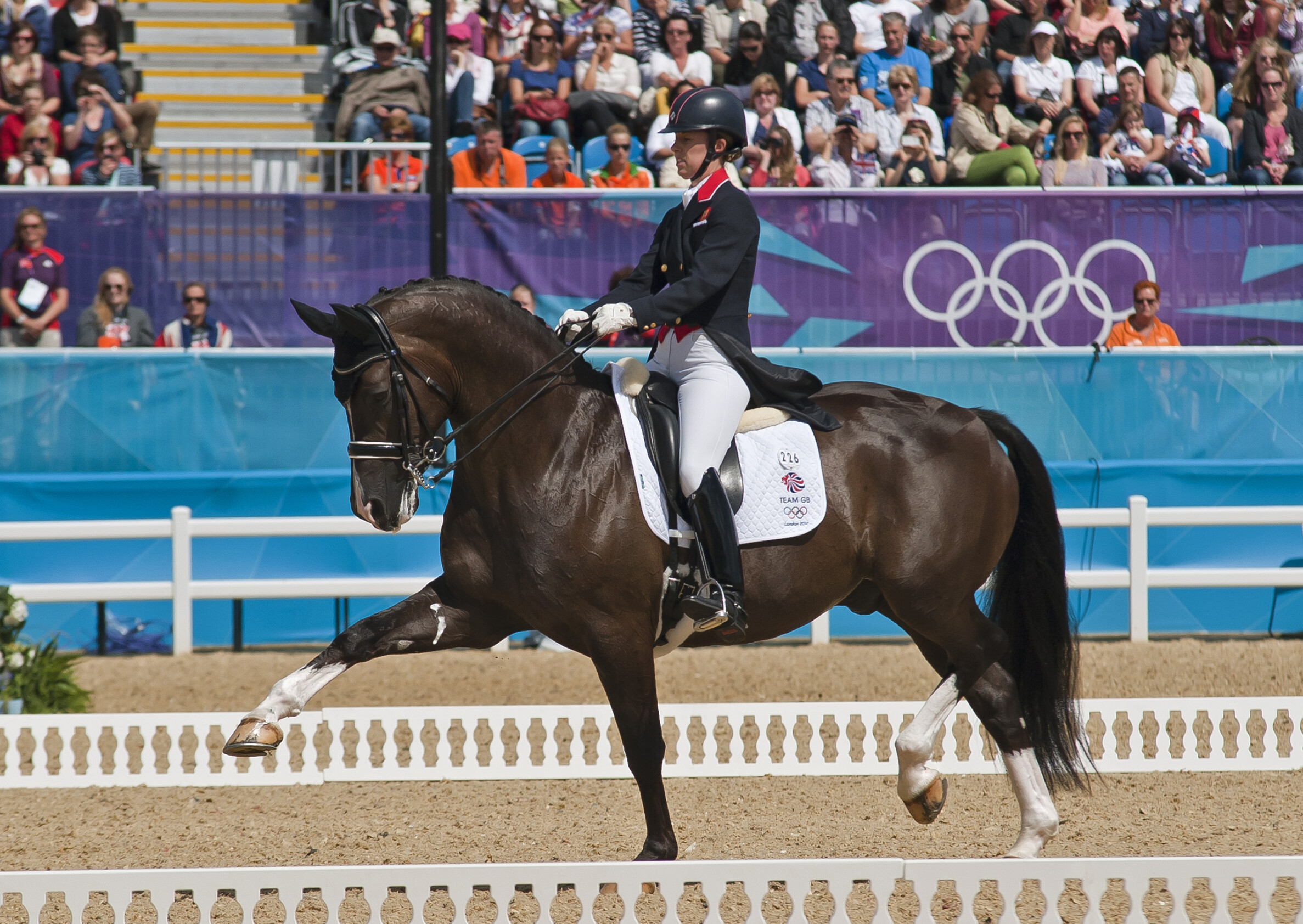 Charlotte and Valegro