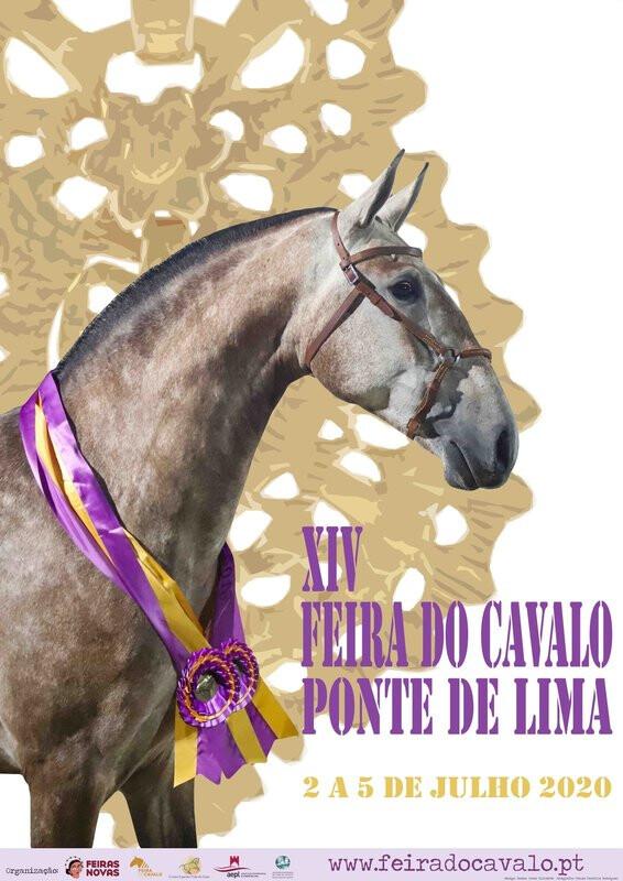 Cartaz Feira do Cavalo de Ponte de Lima 2020