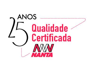 Nanta comemora 25 anos da sua primeira certificação de qualidade