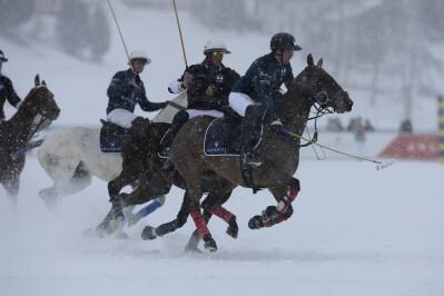 Polo na neve em St. Moritz