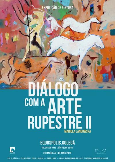 Exposição de Pintura Diálogo com a Arte Rupestre II