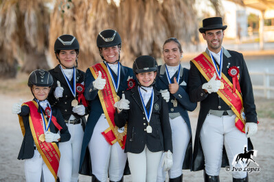 Lusitanus Miranda Dressage Team no Campeonato Regional do Algarve
