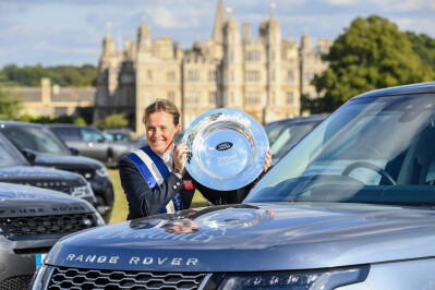Pippa Funnell volta a conquistar Burghley
