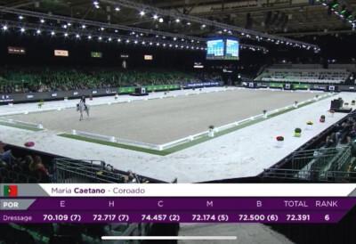 Maria Caetano e Coroado batem recorde pessoal em GP
