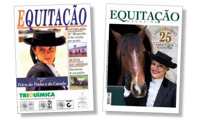Revista Equitação celebra 25 anos com capa alusiva à edição n.º 1