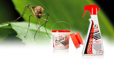 Mantenha os insectos afastados com Power Phaser