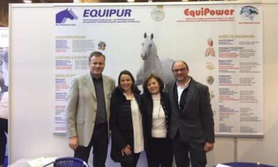 Hippus B festeja 20 anos de parceria com a Vetripharm