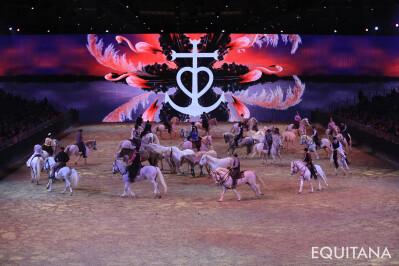 Celebrar o cavalo na EQUITANA