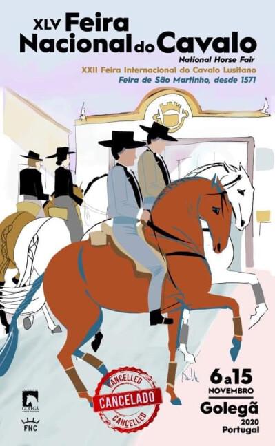 Feira Nacional do Cavalo 2020 cancelada