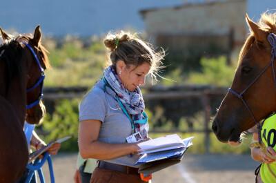 Mónica Mira lidera equipa veterinária no Mundial