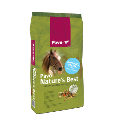 Pavo reformula o Nature's Best