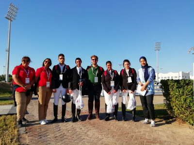 Portugueses já ganham em Abu Dhabi