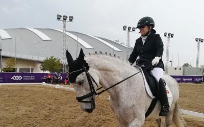 Ana Mota Veiga a ganhar no Qatar