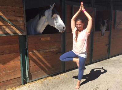 Yoga para cavaleiros