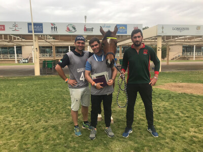 Rui Pereira conclui a Crown Prince Cup