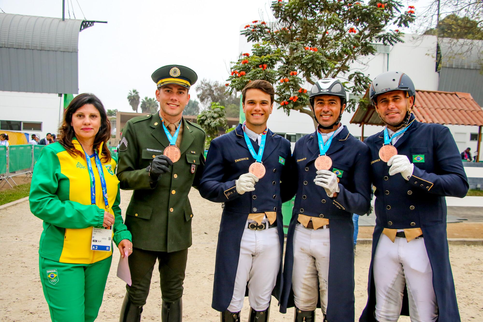 Equipa Brasileira Pan-Americanos